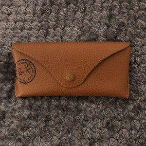 Brown Ray-Ban Glasses Case